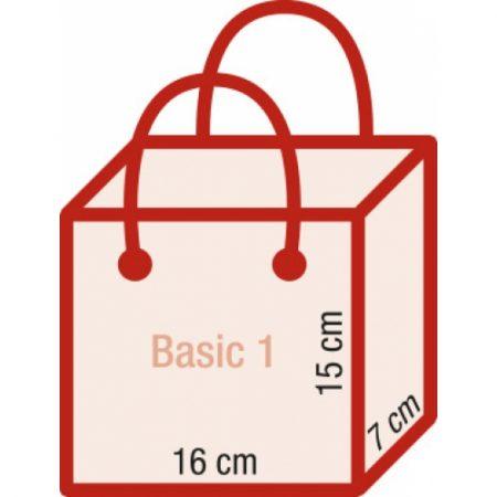 Werbeartikel Papiertragetasche exklusiv bedruckbar rundumbedruckbar Kordeln ohne Laminierung Kraftpapier