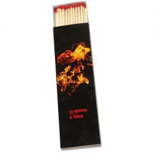 Werbeartikel Zündholzschachtel Streichhölzer indviduell bedruckbar Langstreichholzschachteln Kaminzünder