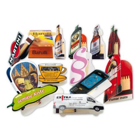 Werbeartikel Streichholzbriefchen Zündholzbriefchen individuell bedruckbar Sonderformat