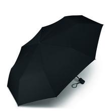 Werbeartikel Regenschirm Taschenschirm individuell bedruckbar schwarz