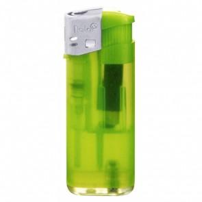 Werbeartikel Feuerzeug hellgrün grün individuell bedruckbar