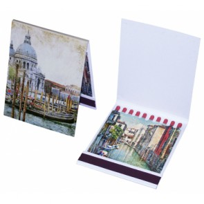 Werbeartikel Streichholzbriefchen Kartonbriefchen individuell bedruckbar
