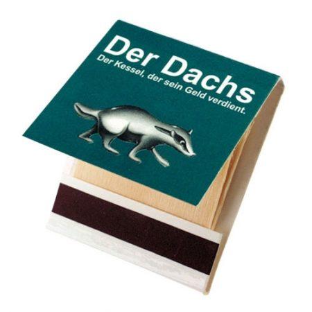 Werbeartikel Streichholzbriefchen Zündholzbriefchen individuell bedruckbar
