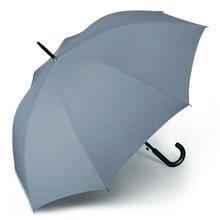 Werbeartikel Regenschirm grau Stockschirm individuell bedruckbar