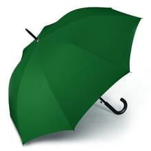 Werbeartikel Regenschirm grün dunkelgrün Stockschirm individuell bedruckbar