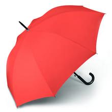 Werbeartikel Regenschirm orange Stockschirm individuell bedruckbar