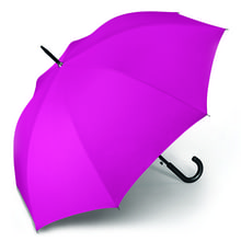 Werbeartikel Regenschirm pink Stockschirm individuell bedruckbar