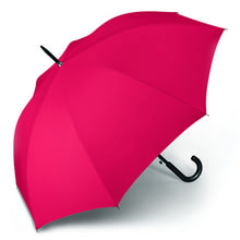 Werbeartikel Regenschirm rot Stockschirm individuell bedruckbar