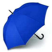 Werbeartikel Regenschirm blau Taschenschirm individuell bedruckbar