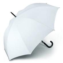 Werbeartikel Regenschirm weiss Stockschirm individuell bedruckbar