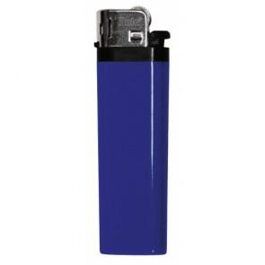Werbeartikel Feuerzeug blau individuell bedruckbar Reibrad