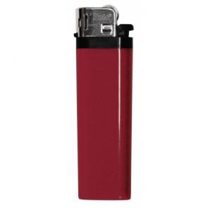 Werbeartikel Feuerzeug rot individuell bedruckbar Reibrad