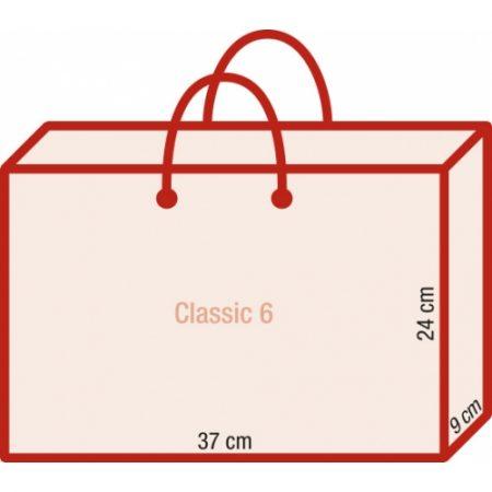 Werbeartikel Papiertragetasche exklusiv bedruckbar rundumbedruckbar Kordeln laminiert